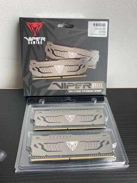 Memoria DDR4 Viper Gamming Patriot 16gb (2x8) 3600mhz