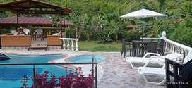 Hermosa cabaña (la huella) en alquiler en Manizales