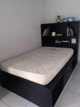 Vendo cama semi doble
