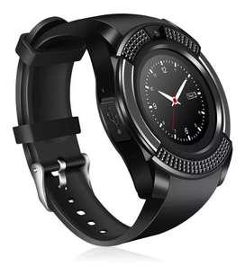 Smartwach Reloj Inteligente Con Cámara Bluetooth Sim V8