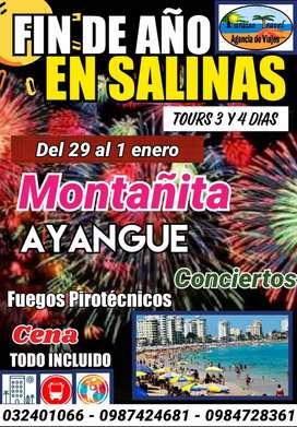 TOUR FIN DE AÑO SALINAS