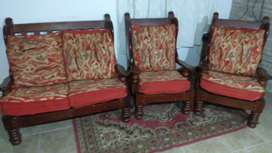 Vendo sillones algarrobo