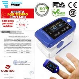 Oximetro Pulsimetro Saturometro Contec