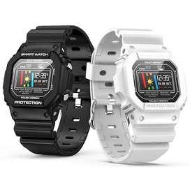 ¡NUEVO! Smartwatch Militar I12 Negro, blanco y verde