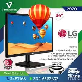 "Monitor 24"" LG / Tecnología IPS - 75 Hz"