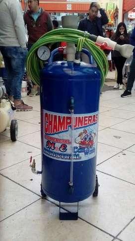 Champunera Nacional 40 Litros Cars Wash Profesional Uso Continuo