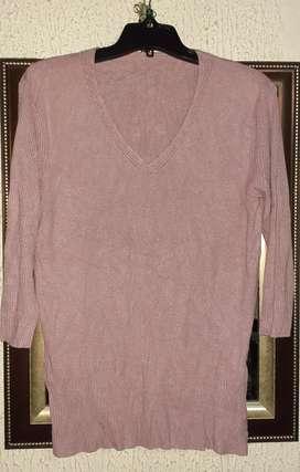 Sweater de hilo marca Mauro Sergio