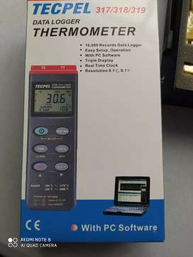 Termómetro data Logger tecpel