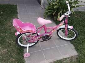 bici de nene rodado 16 impecable