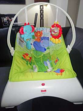 SILLA MECEDORA VIBRADORA FISHER PRICE