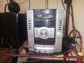 Ganga Vendo equipo de sonido Sony con bloetooth