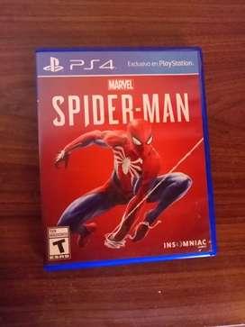 Spiderman PS4 físico