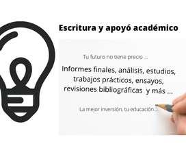 Asesoría y acompañamiento en redacción y corrección de tesis y trabajos de investigación,  calidad a mejor precio
