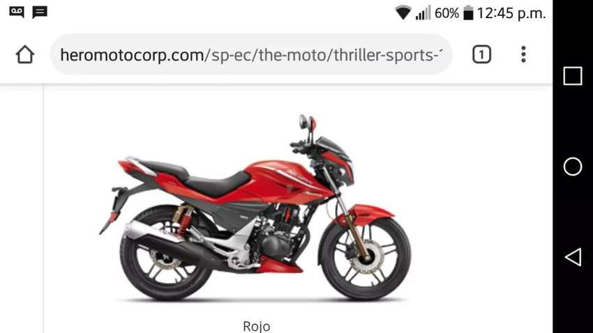 Moto hero triller Sport poco uso .. 19000 km 0
