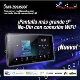 "RADIO PIONEER DMH ZS9350BT USB DVD BT PANT 7""APPLE CARPLAY WIRELESS MIRRORING NUEVO GARANTÍA SCP1"