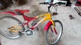Bicicleta galaxi