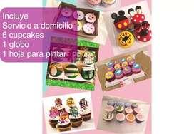 Cupcakes para el día del niño