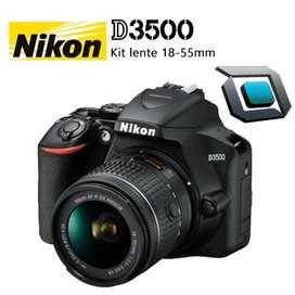 Camara Nikon D3500 Lente 18-55mm Nuevas /Factura/Garantia/Tarjeta 12 cuotas 69.23