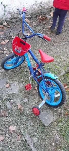 Vendo bicicleta varon rodado 20. Practicamente sin uso