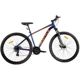 Bicicleta Rodado 29 Mtb Battle 240m 24 Vel Frenos A Discos