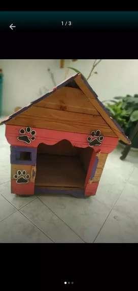 Casa para perro pequeño o gato