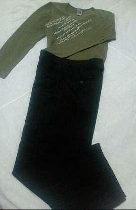 Pantalón talla 7  ver descripción