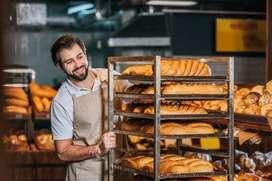 Ofrescome como panadero pastelero