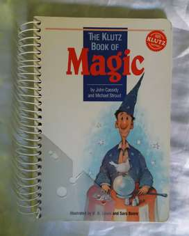 The klutz book of magic jonh cassidy libro en ingles