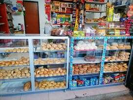 Montaje de panaderia y  tienda