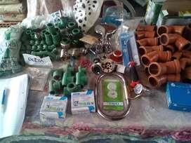 Plomería, refrigeración, electrica, accesorios,