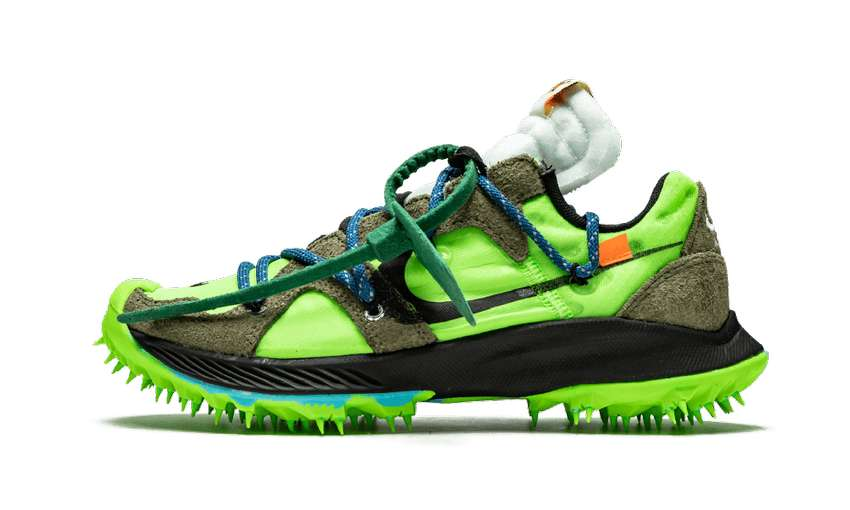 Zapatillas Nike OFF-WHITE x Wmns Air Zoom Terra Kiger 5 'Athlete in Progress - Electric Green' 0