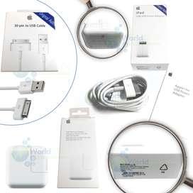 Cargador mas Cable De Datos Usb Ipad 1 2 3 10w 12w Original