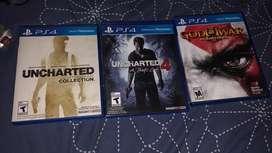 Vendo juegos de play