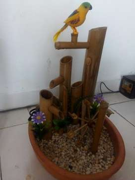 Fuente de Agua en Bambú
