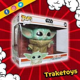 Figura de The Child 369 Baby Yoda de Star Wars Funko Pop de 10 pulgadas