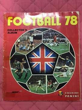 Album Panini futbol 1978