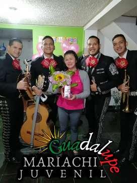 Mariachis Juveniles hoy en Bogotá cumpleaños