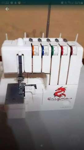 Maquina de coser overlok