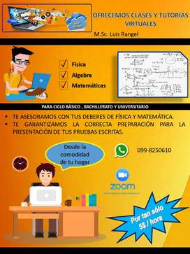 CLASES VIRTUALES FÍSICA Y MATEMÁTICAS