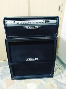 Amplificador de guitarra elect line6 spider 3