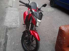 Honda cb125 , soat vigente , color rojo nuevo