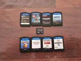 juegos y memoria ps vita