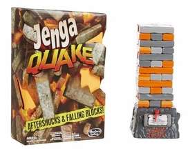 Jenga Quake con movimiento