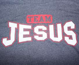 Remera Jesús Team Jesus