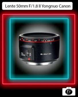 Lente Yn 50mm F/1.8 II Yongnuo para Canon