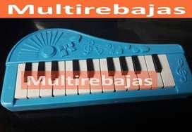 Mini Organo Musical Teclado Piano De 13 Teclas Para Niños