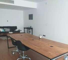 Mesa de Oficina estilo industrial