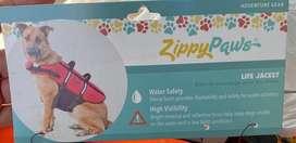 Chaleco / Arnes salvavidas para canino /perro con reflector/ ajustable