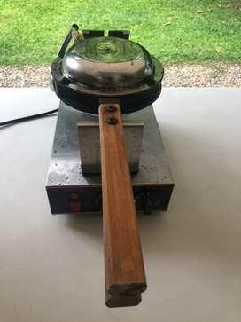 Vendo wafflera de burbujas para que puedas rellenar y personalizar los waffles