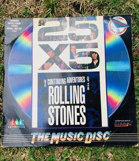 25x5 The Continuing Adventures Of The Rolling Stones CD Laser